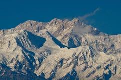 Picco di Kanchenjunga Immagine Stock