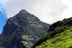 Picco di Koscielec nell'alto Tatras poland Fotografie Stock