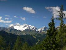 Picco di Marmolada, le dolomia, Italia Fotografia Stock
