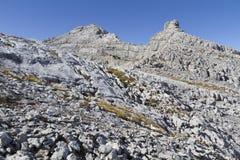 Picco di Mitterhorn nelle alpi austriache, Europa Fotografia Stock