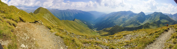 Picco di Moldoveanu Fotografia Stock