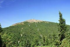 Picco di montagna Immagine Stock Libera da Diritti
