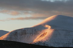 Picco di montagna Fotografie Stock Libere da Diritti