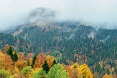 Picco di montagna della Russia Adygea Fotografia Stock