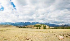 Picco di montagna dello Snowy Fotografie Stock Libere da Diritti