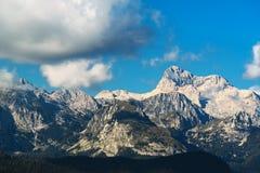 Picco di montagna di Triglav, Slovenia Immagini Stock
