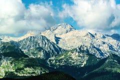 Picco di montagna di Triglav, Slovenia Fotografie Stock