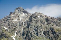 Picco di montagne Fotografia Stock Libera da Diritti