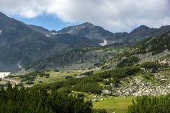 Picco di Musala, montagna di Rila Fotografie Stock Libere da Diritti