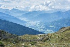 Picco di Patscherkofel vicino ad Innsbruck, Tirolo, Austria. Fotografie Stock