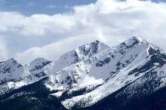 Picco di Snowy Fotografia Stock Libera da Diritti