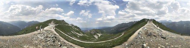 Picco di Tatra Fotografia Stock