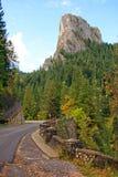 Picco di Toaca delle montagne di ceahlau Fotografia Stock Libera da Diritti
