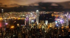 Picco di Victoria a Hong Kong fotografia stock