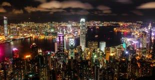 Picco di Victoria a Hong Kong fotografia stock libera da diritti