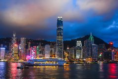 Picco di Victoria a Hong Kong immagini stock libere da diritti
