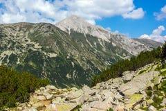 Picco di Vihren, montagna di Pirin Fotografia Stock Libera da Diritti