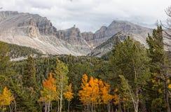 Picco nazionale del Parco-carraio del bacino di NV-grande Fotografia Stock Libera da Diritti