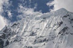Picco Snowcapped Immagine Stock Libera da Diritti