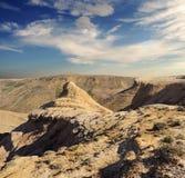 Picco sui pendii del plateau Fotografie Stock Libere da Diritti