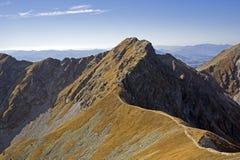 Picco tri di Kopy in Tatras occidentale fotografia stock libera da diritti