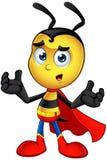 Piccola ape eccellente - confusa royalty illustrazione gratis