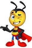 Piccola ape eccellente - indicando illustrazione vettoriale