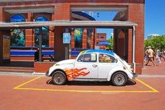Piccola automobile d'annata, Cape Town, Sudafrica Immagine Stock Libera da Diritti