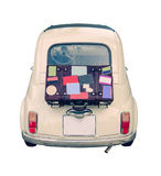 Piccola automobile europea d'annata Fotografia Stock Libera da Diritti
