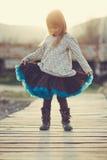 Piccola ballerina Immagini Stock Libere da Diritti