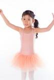 Piccola ballerina nello studio immagine stock