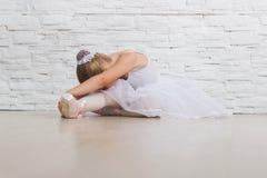 Piccola ballerina sveglia balletto Fotografia Stock