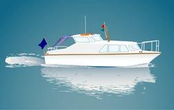Piccola barca royalty illustrazione gratis