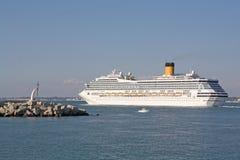 Piccola barca, girare impressionante fotografia stock