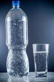 Piccola bottiglia di acqua Fotografia Stock Libera da Diritti