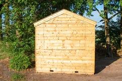 Piccola cabina di legno Immagine Stock Libera da Diritti