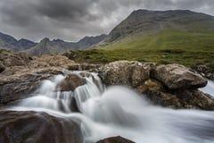 Piccola caduta, isola di Skye Fotografie Stock Libere da Diritti