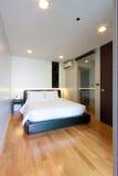 Piccola camera da letto Fotografia Stock