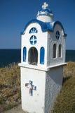 Piccola cappella in Grecia fotografie stock libere da diritti