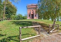 Piccola cappella rurale in Italia Immagini Stock