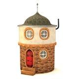 Piccola casa 3D Immagini Stock