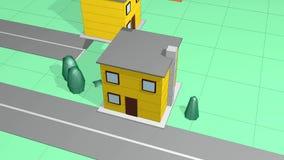 Piccola casa stock footage