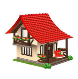 Piccola casa accogliente Illustrazione Vettoriale
