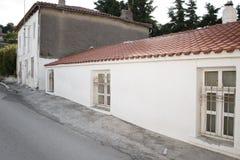 Piccola casa bianca Fotografie Stock