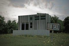Piccola casa di campagna Fotografia Stock Libera da Diritti