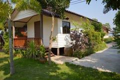 Piccola casa nella località di soggiorno di Khlong Preng a Chachoengsao Tailandia sul 10 novembre 2015 Immagini Stock
