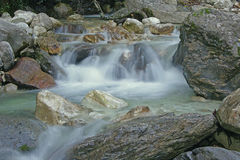 Piccola cascata Arkivbilder