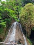 Piccola cascata sul fiume di Kwai Immagini Stock Libere da Diritti