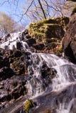 Piccola cascata sul percorso di Watkin Fotografia Stock Libera da Diritti
