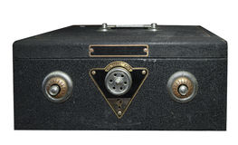 Piccola cassaforte con le serrature gemellare di Combintaion Immagini Stock